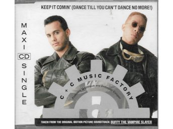 C+C Music Factory - Keep It Comin' - 1992 - CD Maxi