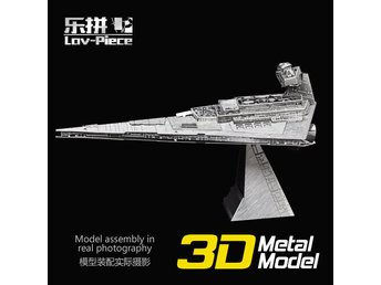 3D Pussel Metall - Star Wars - Starwars - Star Destroyer