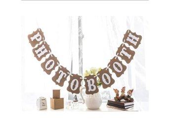 Photo booth banderoll bröllop bröllopsdekoration - Mellbystrand - Photo booth banderoll bröllop bröllopsdekoration - Mellbystrand