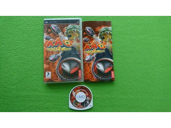 Kao Challengers KOMPLETT Psp Playstation Portable