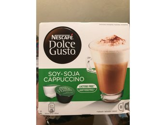 Nescafe Dolce Gusto Soy/Soja Cappuccino laktosfria kapsel 3 st