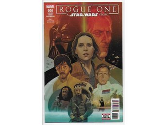Star Wars: Rogue One Adaptation # 6 NM Ny Import