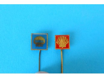 SHELL - lot of 2. vintage pins