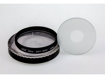 Hoya Soft Spot filter set 62mm (2 filters in Set),Original Keeper,Unused