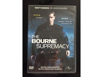 DVD - The BOURNE SUPREMACY