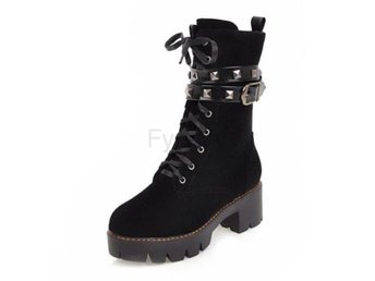 Dam Boots Snow Boot Warm Botas Woman Footwears Black 37