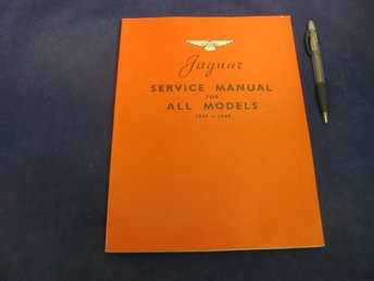 JAGUAR Service Manual For All Models 1946-1948