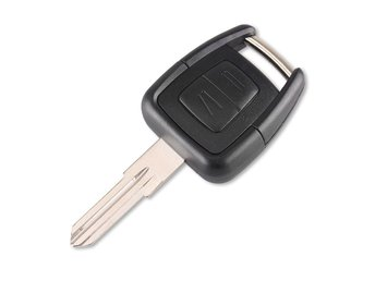 2 Buttons Car key Replacement Opel Shell with Blade