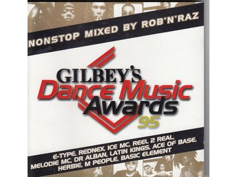 Gilbey's Dance Music Awars 95 Mixed by Rob'N'Raz 1995 CD