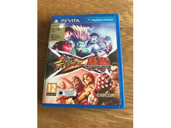 Street Fighter X Tekken Playstation VITA PS