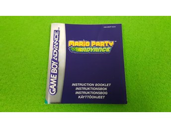 Mario Party Advance Manual Gameboy Advance Nintendo GBA