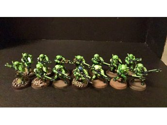 14 St Tau Fire Warriors Målade