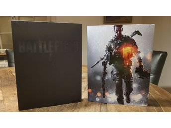 ART OF BATTLEFIELD 4 LIMITED EDITION BOK. TOPPSKICK.