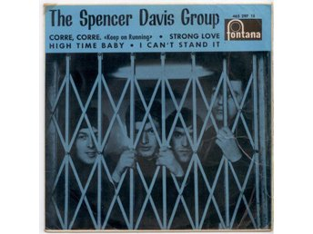 SPENCER DAVIS GROUP - Keep On Running  EP  Spanien