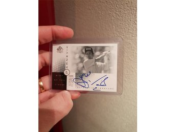 Jesper Parnevik SP Authentic Sign of the times AUTO