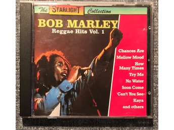 Bob Marley - Reggae Hits Vol. 1 - CD i nyskick!