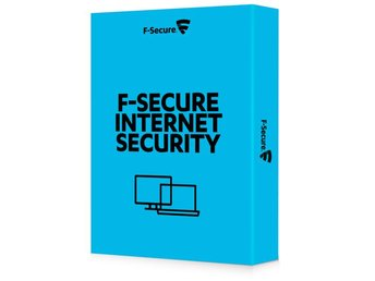 F-Secure Internet Security - 1 år / 3 enheter