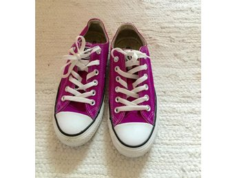 Converse All star - Lila - strl. 37,5