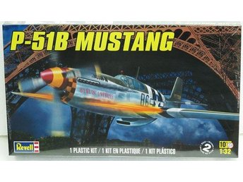 Revell plastic kit - North American P-51B Mustang - 1/32 scale - impressive!