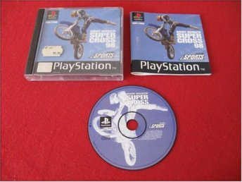 JEREMY MCGRATH SUPERCROSS 98 till Sony Playstation PSone