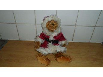 Hund Winter. Mjuk Hund från Teddykompaniet med Julrock och luva, Julhund. - Vejbystrand - Hund Winter. Mjuk Hund från Teddykompaniet med Julrock och luva, Julhund. - Vejbystrand