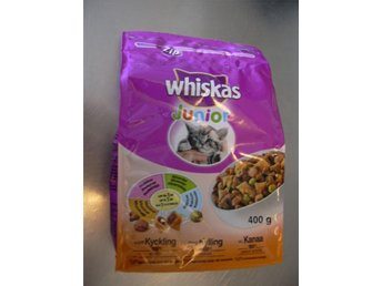 TORRFODER WHISKAS JUNIOR