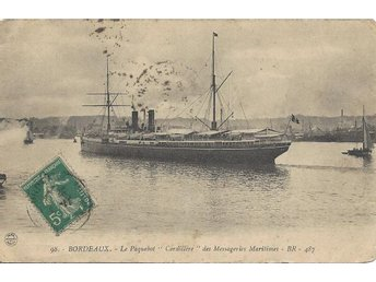 "French Liner "" CORDILLERE """