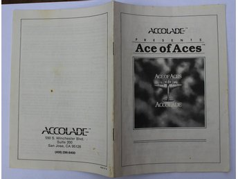 Manual till Ace of Aces - Commodore 64 (C64)