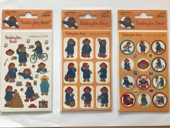 Paddington Stickers/klistermärken