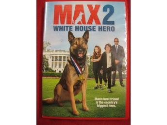 MAX 2  - WHITE HOUSE HERO - DVD OKT 2017