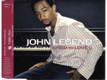 John Legend-Used to love you (3 versioner) / Promo CD-singel