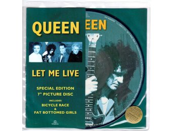 "7"" Queen – Let Me Live Picture Disc UK"