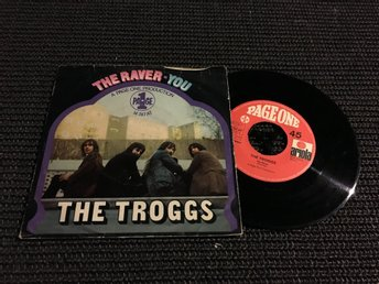 SI THE TROGGS THE RAVER PAGE ONE TYSKLAND