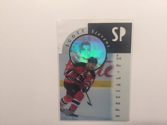 1995-96 SP - Holoview #FX13 - Scott Stevens