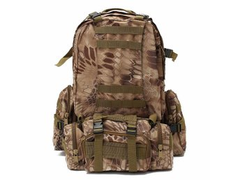 60L Molle Riding Tactical Bag Pouch Camping Racing Trekki...