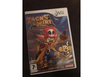 Zack & Wiki quest for barbaros treasure Wii