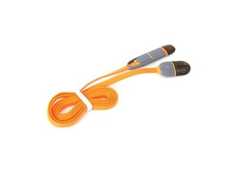 PLATINET USB UNIVERSAL CABLE 2 IN 1: MICRO USB & LIGHTNING PLUGS ORANGE 42873 EO