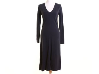 NY, Filippa K, stl S, Klänning, dam, Navy, V-neck dress, ord pris 1300kr