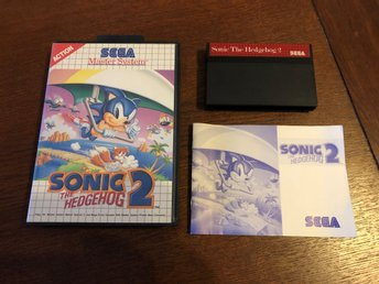 Sonic The Hedgehog 2 - SMS - Sega Master System
