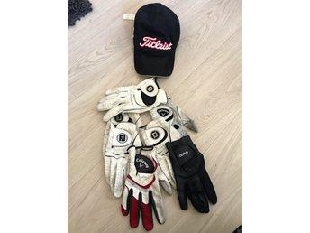 7 golf handskar och en keps titleist (341773348) ᐈ Köp på Tradera ab5860f5fca