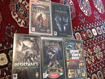 Dante's Inferno+Aliens Vs. Predator+Resistance Retribution+GTA+MediEvil