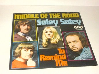 Middle Of The Road - Soley Soley / To Remind Me, vinyl EP