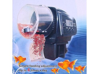 Automatisk Fiskmatare Automatic Fish Feeder Timer Food Feeding