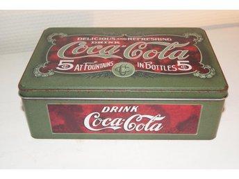 Coca Cola, Plåtburk, Shabby, Industri - Falun - Coca Cola, Plåtburk, Shabby, Industri - Falun
