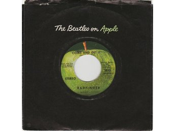 45 Apple Badfinger Come And Get It vinyl Beatles McCartney