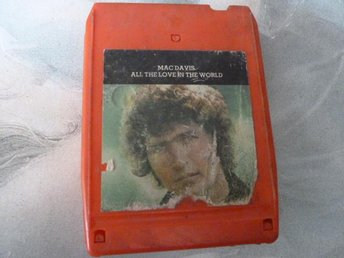 MAC DAVIS, ALL THE LOVE IN THE WORLD,  KASSETTBAND, 8-TRACK