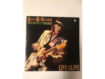 Steve Ray Vaughan And Double Trouble-Live Alive-LP