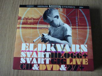 "Eldkvarn "" Svart Blogg&Gig "" 2 CD+ 1 DVD"