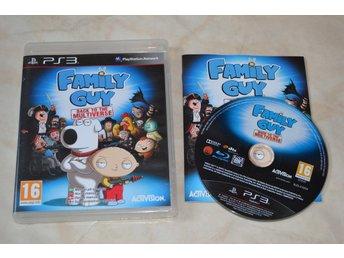 Family Guy Back to the Multiverse PS3 Playstation 3 Komplett Fint Skick - Vännäs - Family Guy Back to the Multiverse PS3 Playstation 3 Komplett Fint Skick - Vännäs