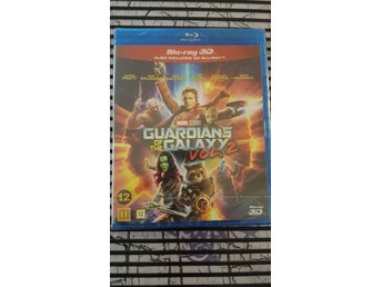 Guardians Of The Galaxy Vol. 2 3D + Vanlig BluRay *Svensk Utgåva*